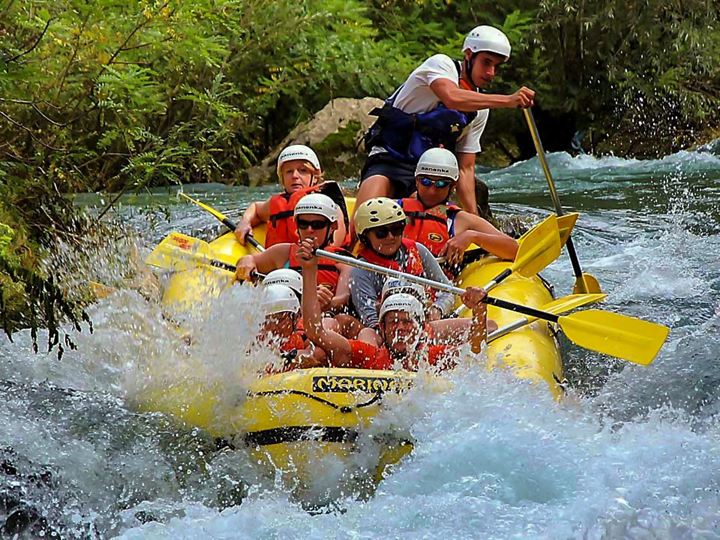 Have Fun Rafting Along the Mighty Rivers in Croatia