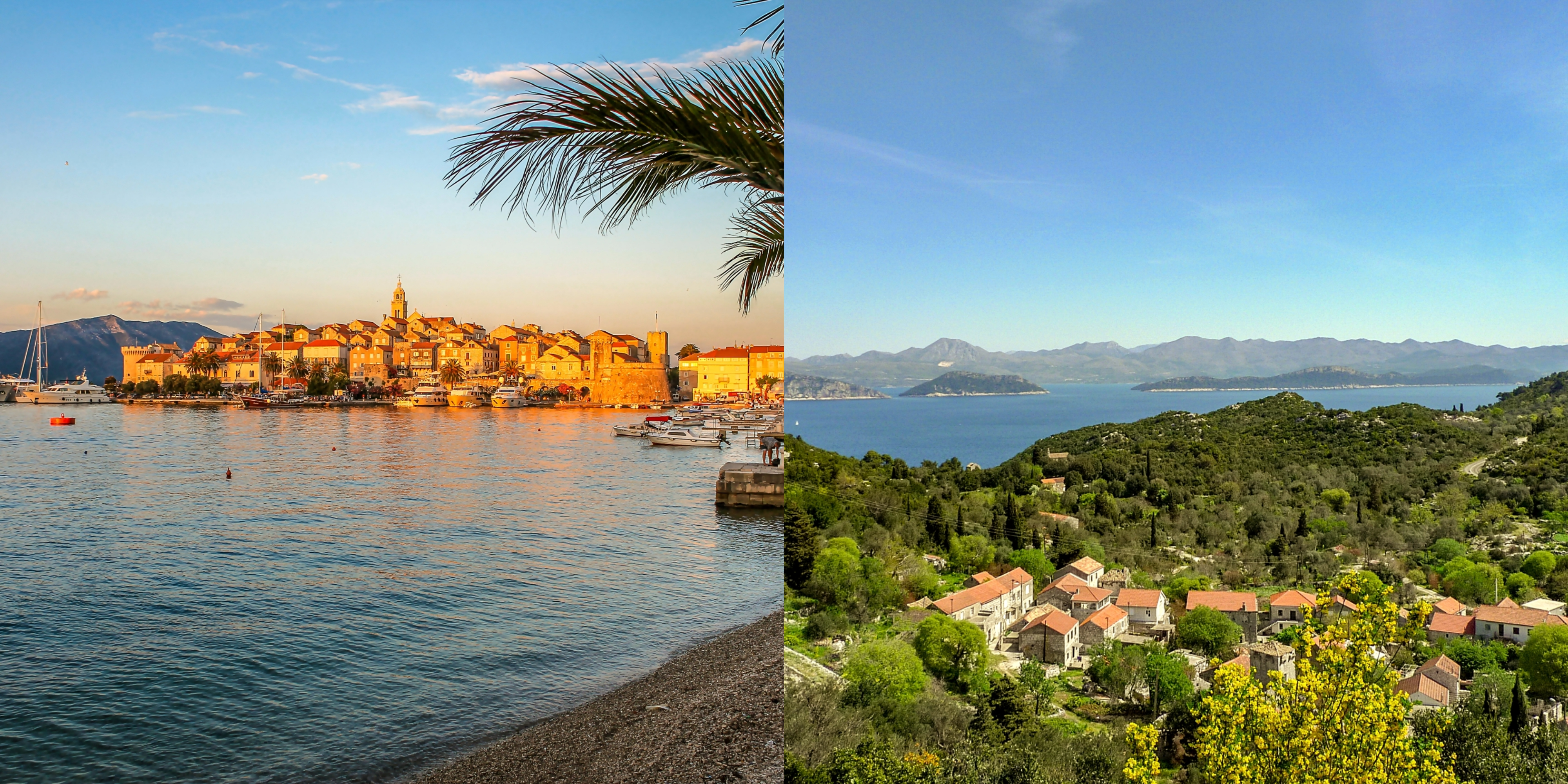 Explore the islands of Korčula and Mljet in Autumn