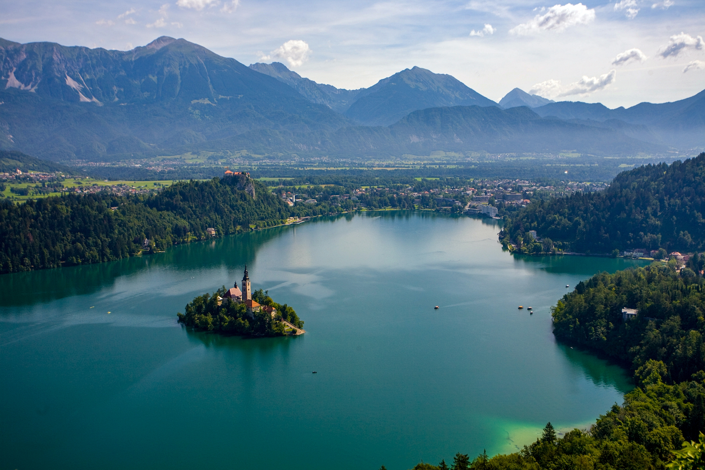 The Enchanting Lake Bled in Slovenia