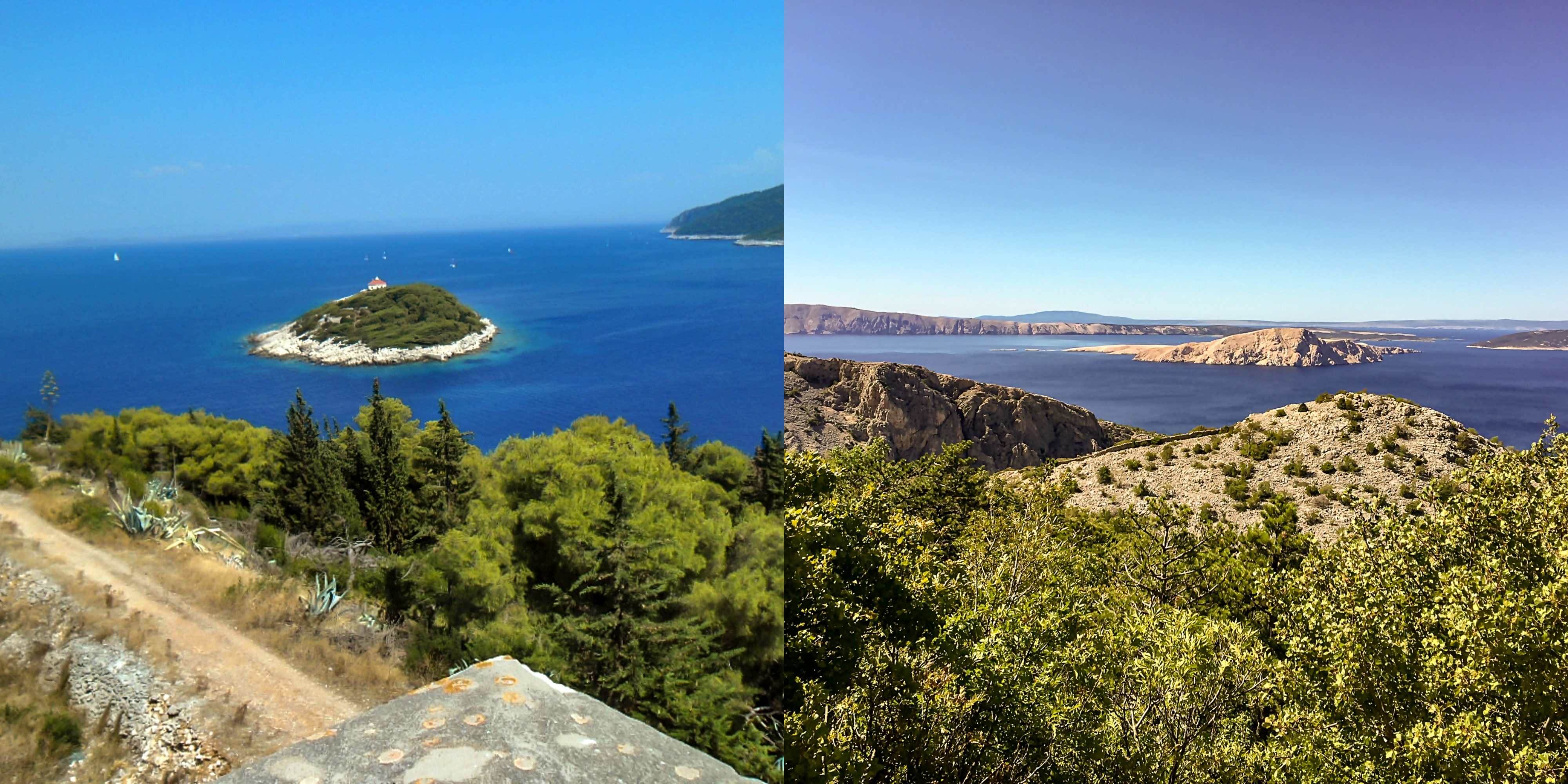 Explore the islands of Vis and Rab