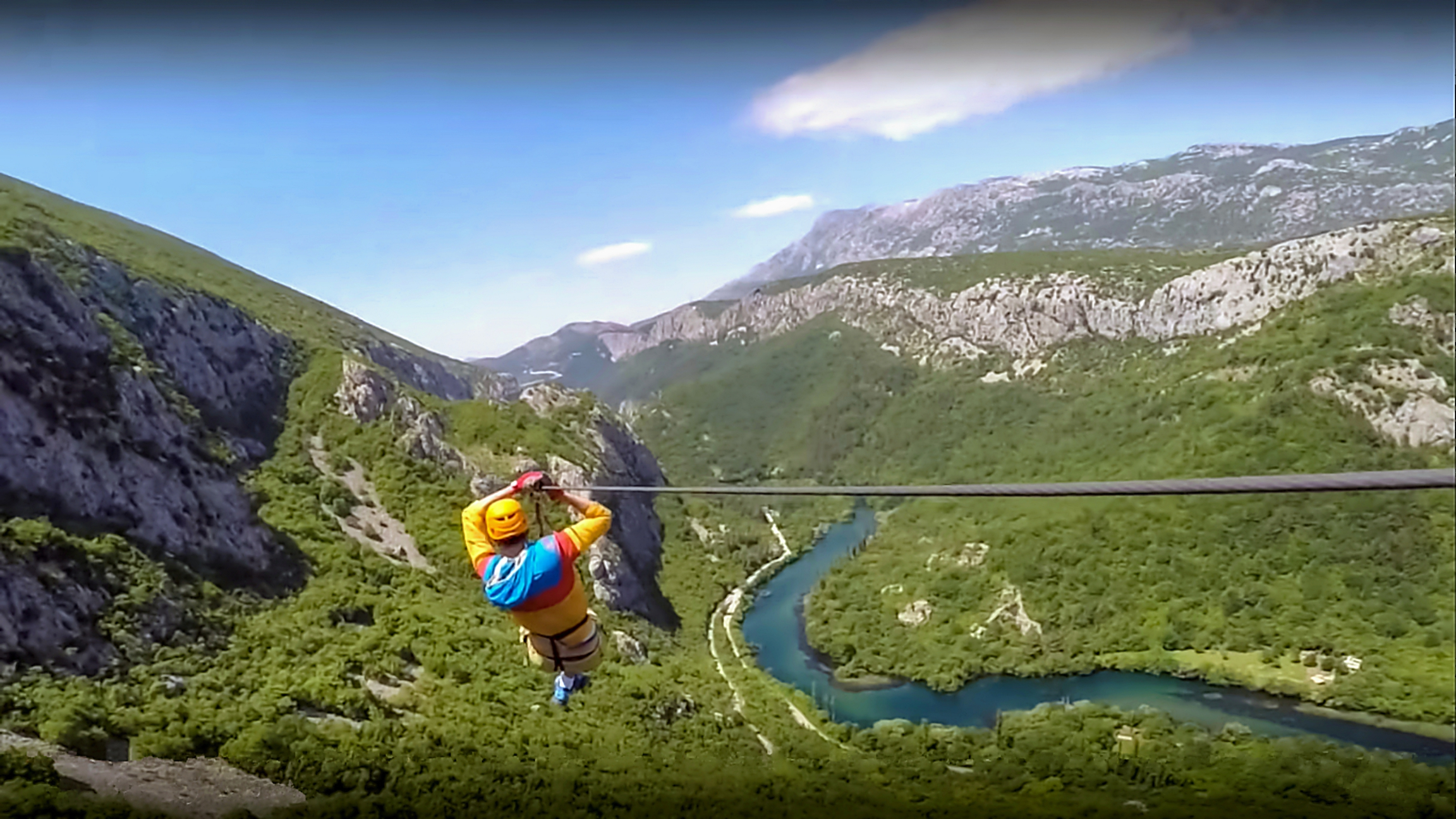 Have Fun Ziplining in Croatia