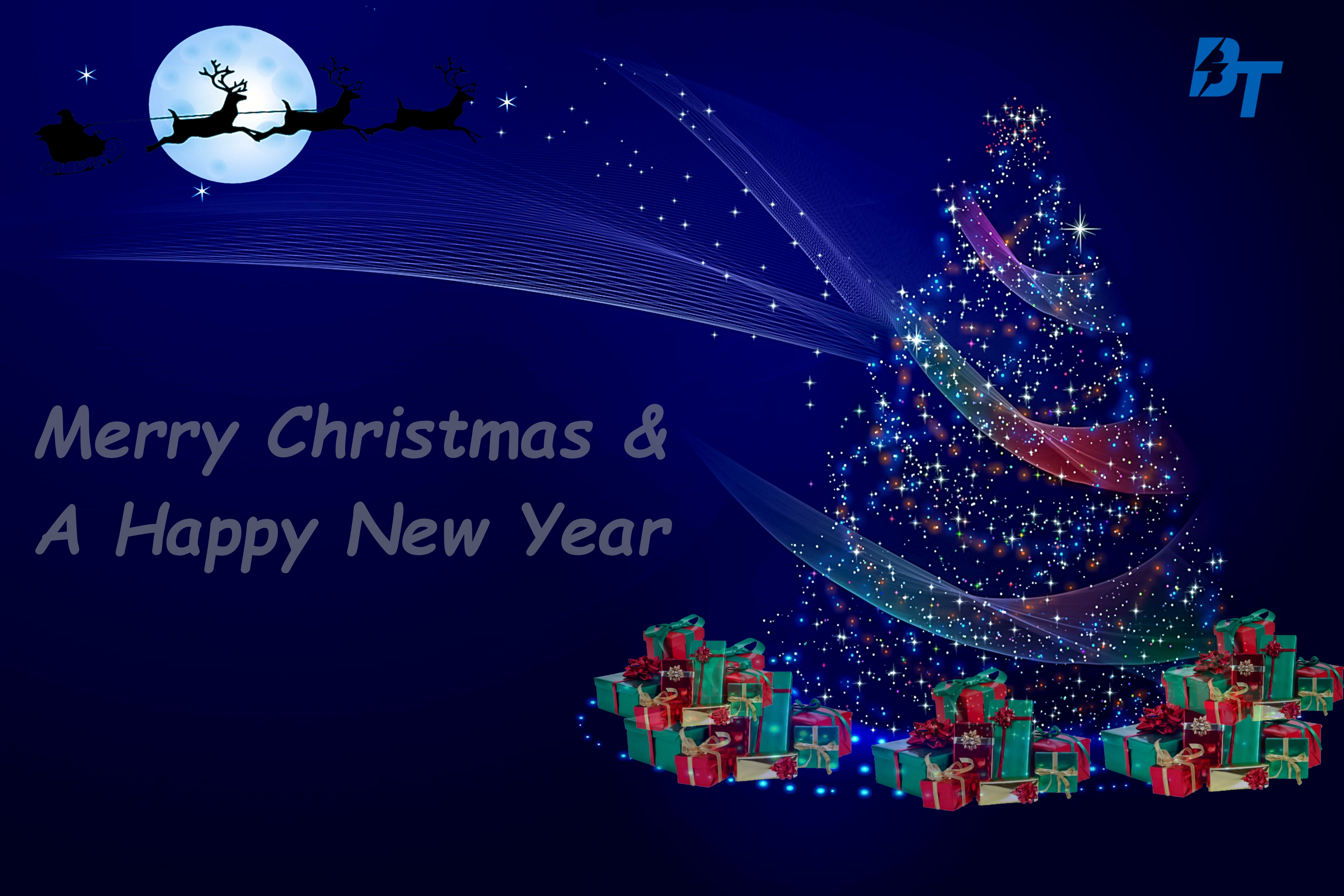 Merry Christmas and a Happy New Year from Bolt Travel