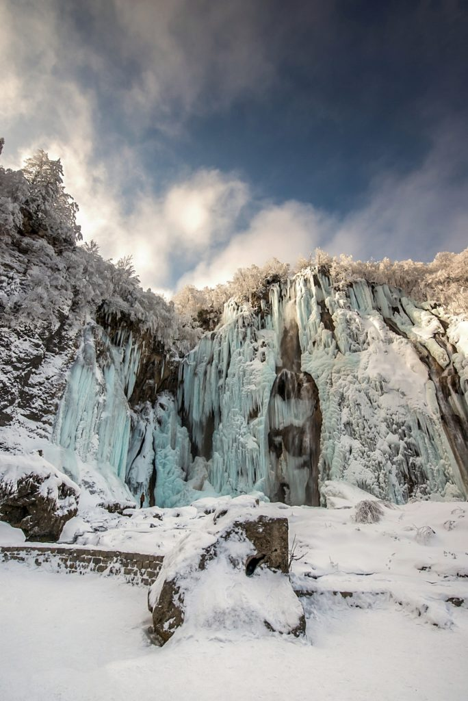 Visit the Frozen Waterfalls at Plitvice Lakes National Park