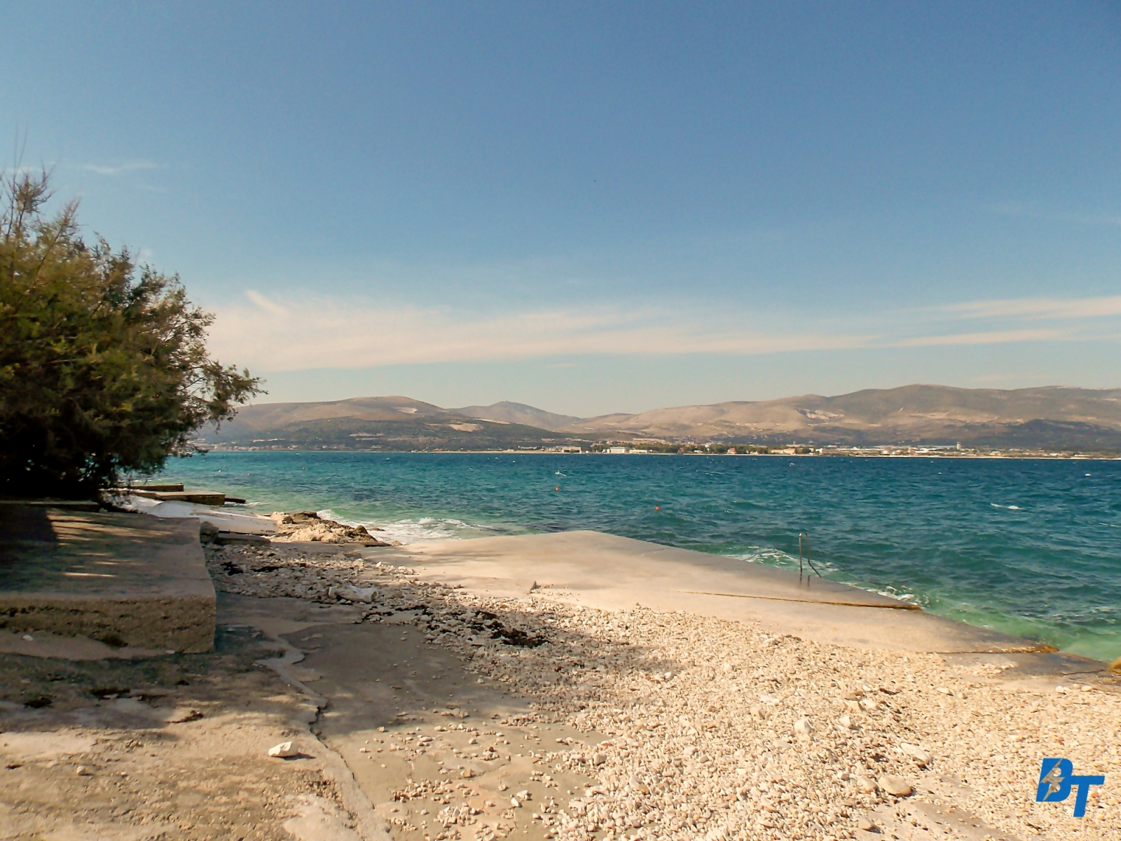 Nearby Beach in Slatine (1-min Walk from the Apartment)