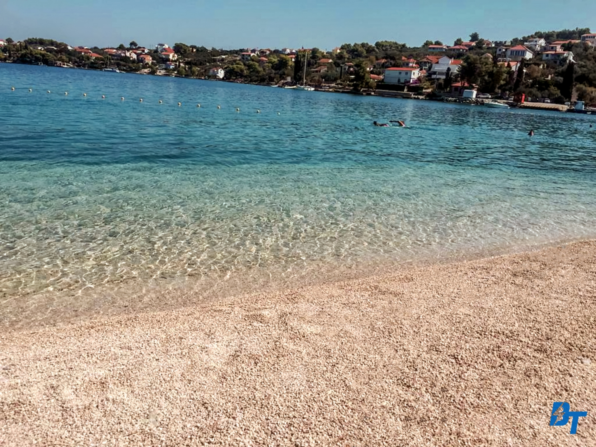 Nearby Beach in Necujam (1-min Walk from the Apartment)