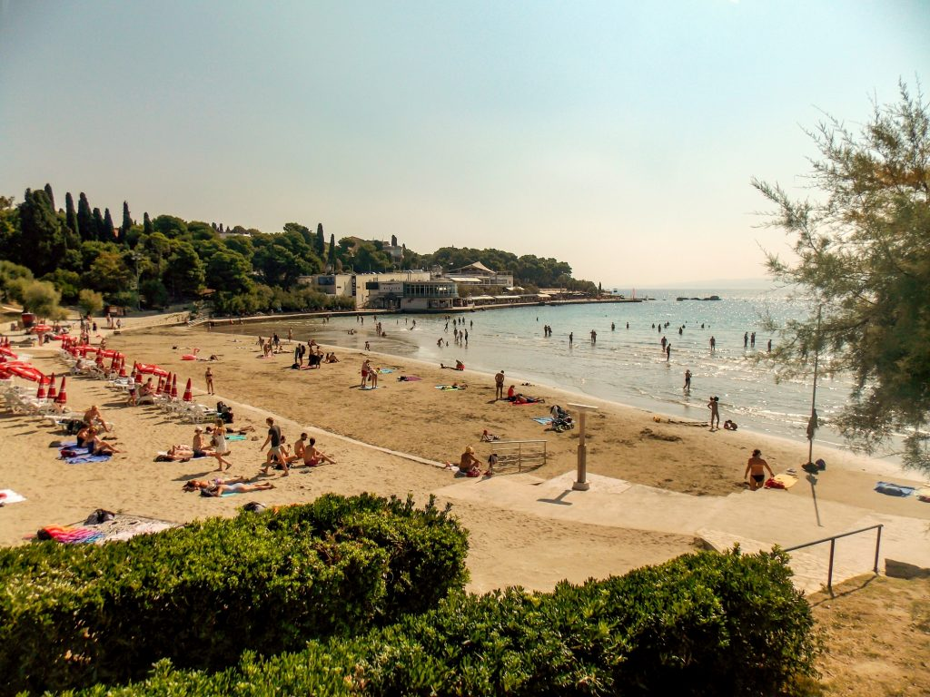 Bačvice Beach, Split