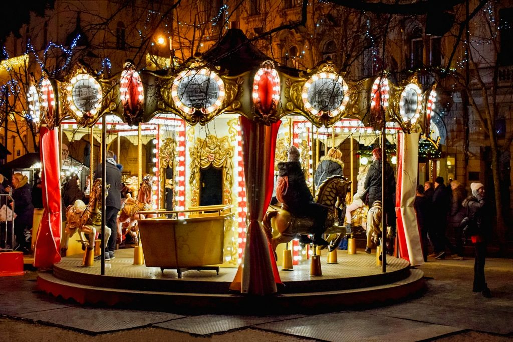 Merry-Go-Round at the Fooling Around